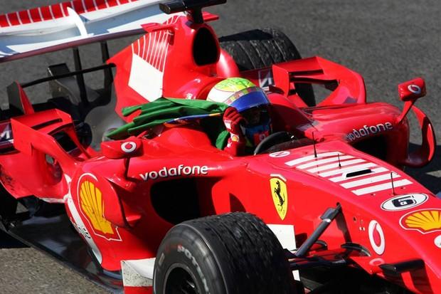 Felipe Massa no GP do Brasil de 2006 (Foto: Divulgação)