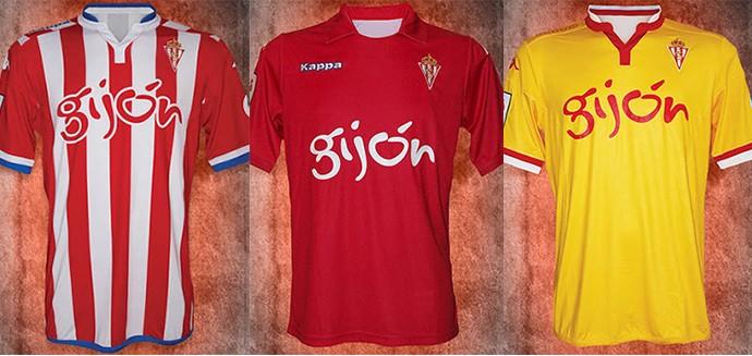 Camisas espanhol Gijon