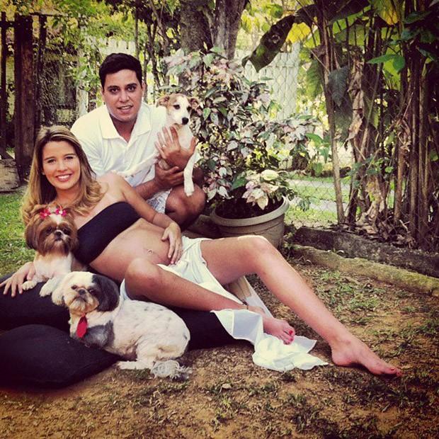 Debby Lagranha e o marido (Foto: Instagram / Reprodução)