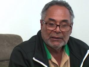 Irmão de Odair, Dejair viajou para a ilha caribenha (Foto: Reprodução/ RPC)
