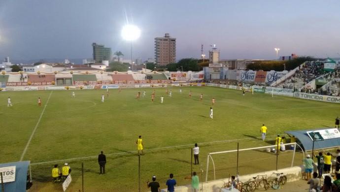Nacional de Patos x Internacional-PB, Campeonato Paraibano da 2ª divisão (Foto: Rafaela Gomes/TV Paraíba)