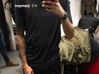 Neymar mostra na web presente que recebeu de Bruna Marquezine