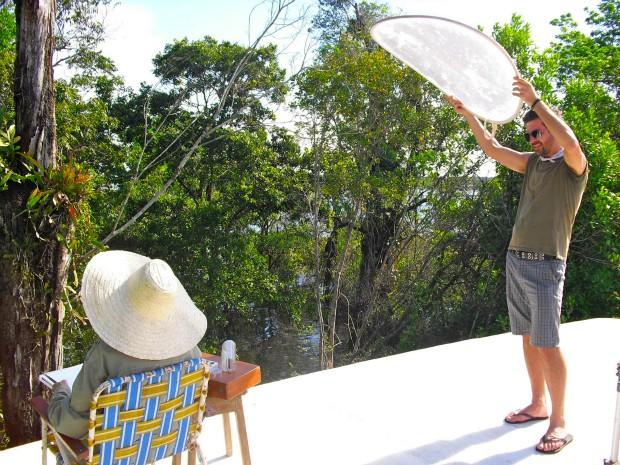 retrata a diversidade da flora que compõe a floresta amazônica (Foto: Divulgação/SEC)