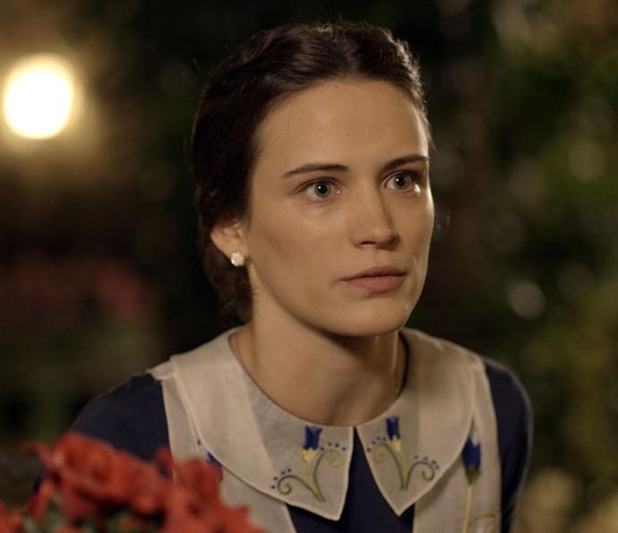 Maria se esforçará para impedir casamento de Sandra e Candinho (Foto: TV Globo)