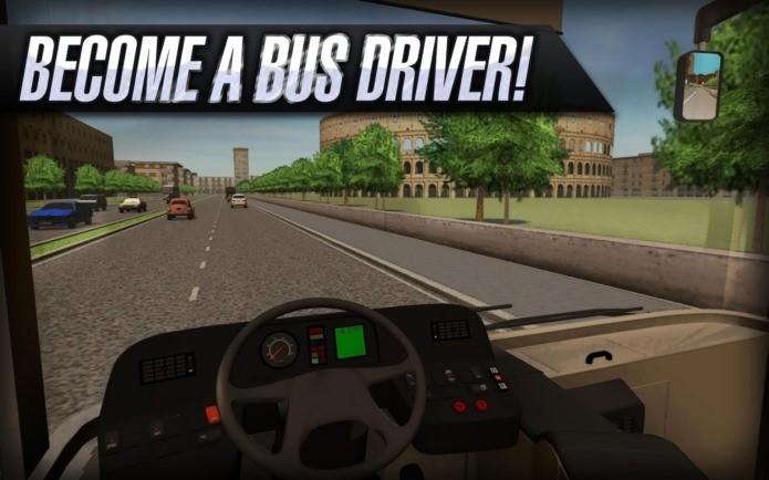 Bus Simulator 2015, um dos melhores jogos de dirigir e estacionar do Android (Foto: Divulgação)