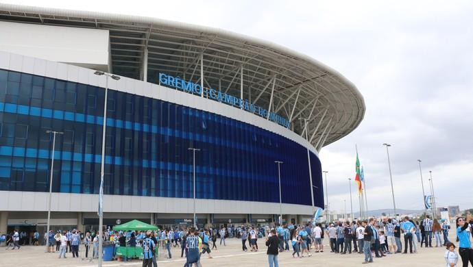 Grêmio x Flamengo Arena do Grêmio (Foto: Eduardo Moura/GloboEsporte.com)