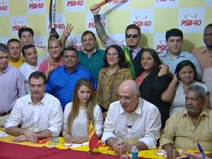 Serafim Côrrea é candidato à prefeitura de Manaus (Foto: Reprodução/Rede Amazônica)