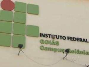 Instituto Federal de Goiás campus Goiânia (Foto: Reprodução/TV Anhanguera)