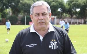 Estêvao Petrallas, presidente do Operário-MS (Foto: Divulgação/Operário-MS)