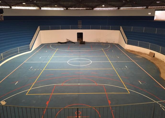 Ginásio de Esportes José Francisco Abegão Presidente Venceslau (Foto: Kadu Mello / Cedida)