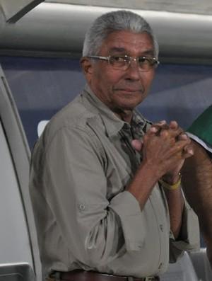 Givanildo Oliveira e o auxiliar Cláudio Prates (Foto: Divulgação / Assessoria AFC)