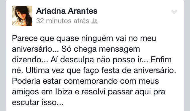 Ariadna (Foto: Facebook/Reprodução)