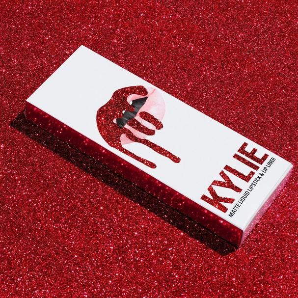 Embalagem da coleção Valentine's Day, da Kylie Cosmetics  (Foto: Divulgação)
