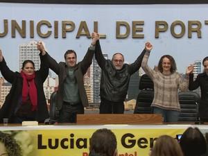Convenção do PSOL (Foto: Reprodução/RBS TV)