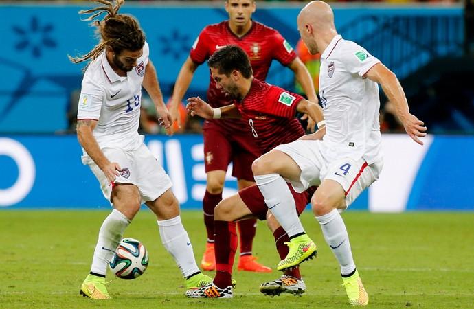 João Moutinho EUA x Portugal (Foto: Reuters)