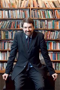 Fernando Schüler  é doutor em  filosofia, mestre  em ciência política  e curador do projeto Fronteiras do Pensamento (Foto: Filipe Redondo/Folhapress)