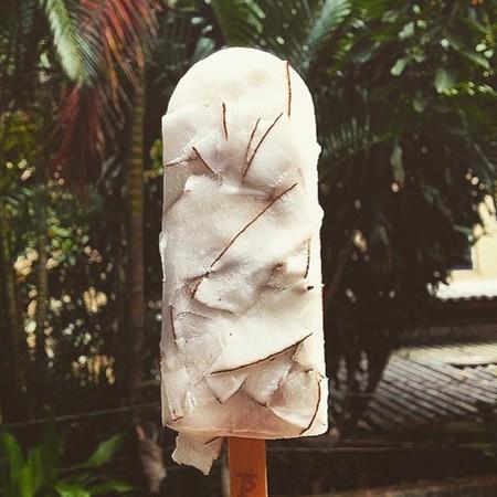 O produto é feito com frutas e água de coco (Foto: Reprodução/Instagram)