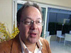 Jorge Varella presidente Bangu (Foto: Vicente Seda)