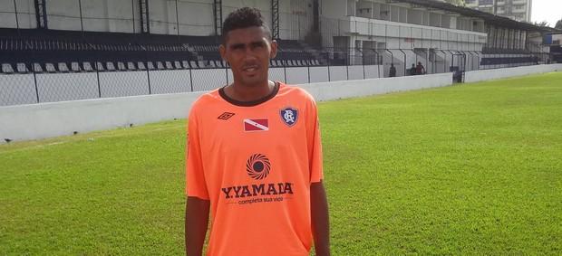 Thiaguinho estava no América-RN (Foto: Gustavo Pêna/GLOBOESPORTE.COM)