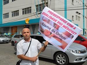 Preocupção com qualidade dos profissionais foi ressaltada (Foto: Marina Fontenele/G1)