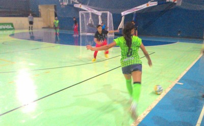 Time de futsal de MS nos Jogos Escolares da Juventude 2015 (Foto: Mauro Resstel/Fundesporte)
