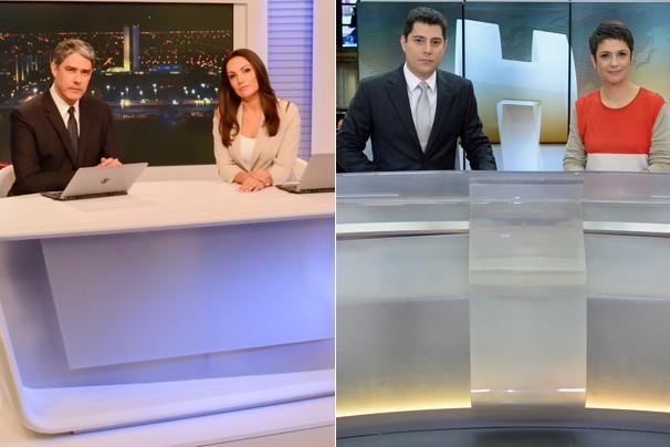 Jornal Nacional e Jornal Hoje concorrem juntos ao Emmy, na categoria Notícia, pela cobertura da morte do então candidato à Presidência, Eduardo Campos (Foto: CEDOC Globo)