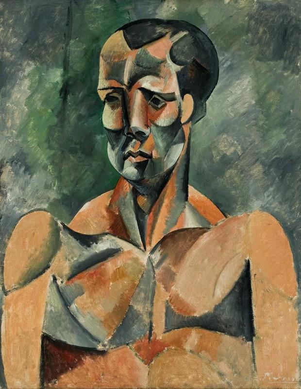 """""""Busto de Homem"""", obra do pintor Pablo Picasso que integra o acervo do Masp e pode ser vista na mostra """"O Triunfo do Detalhe"""" (Foto: Divulgação)"""