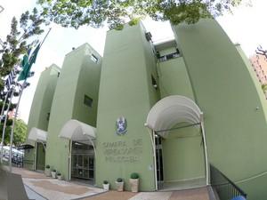 Prédio da Câmara de Piracicaba (SP) (Foto: Fabrice Desmonts/Câmara de Piracicaba)