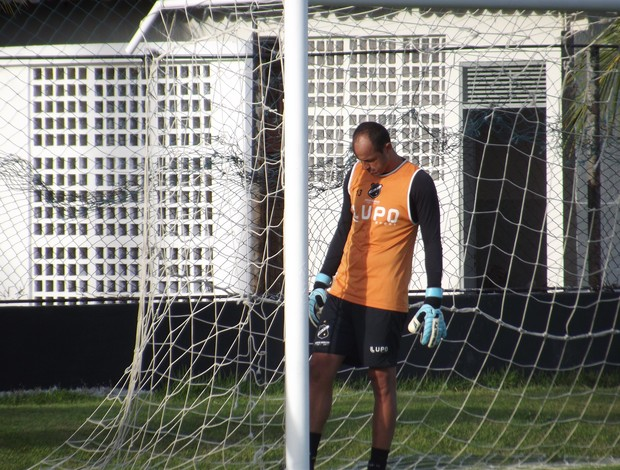 Lopes, goleiro do ABC (Foto: Tiago Menezes)