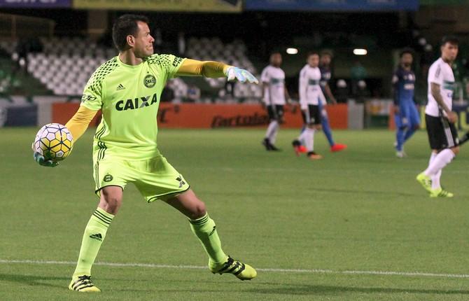 Coritiba x Corinthians, Wilson (Foto: Divulgação/Coritiba)