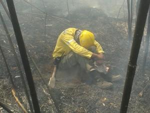 Incêndio Petrópolis (Foto: Divulgação/Parnaso)