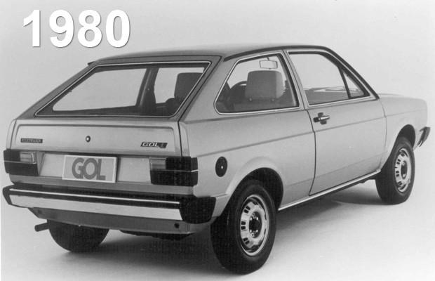 volkswagen gol 1980 (Foto: Divulgação/Volkswagen)
