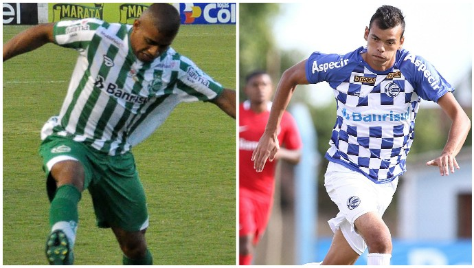 Taiberson Juventude Felipe Guedes São José-RS (Foto: Montagem / Arthur Dallegrave / Juventude / Ricardo Duarte / Inter)