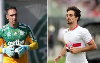"""""""Bem, Amigos!"""" recebe goleiro Prass e zagueiro Rodrigo Caio nesta segunda"""