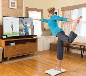 'Wii Fit U' usa a balança Balance Board para fazer exercícios físicos (Foto: Divulgação/Nintendo)