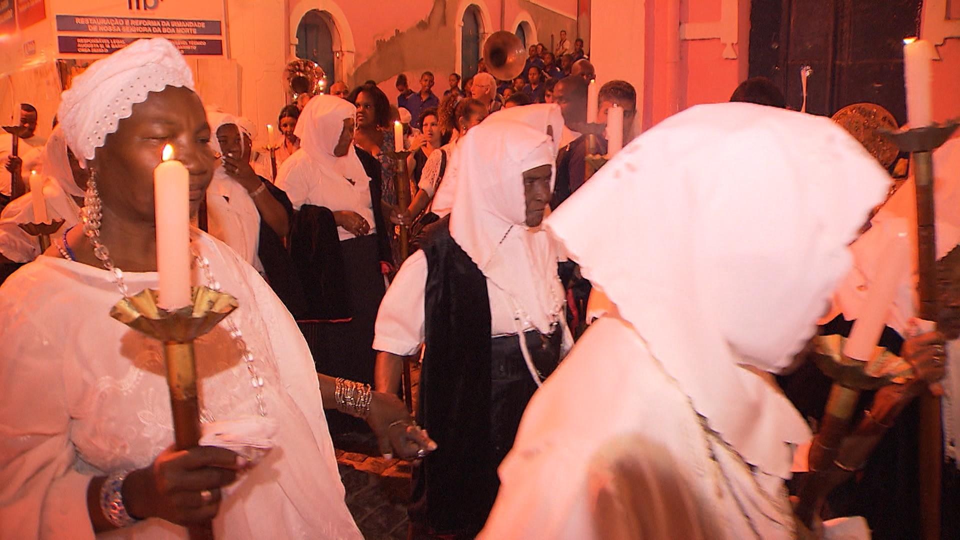 Tradição e religiosidade fazem parte do cenário da Festa da Boa Morte, em Cachoeira (Foto: Divulgação)