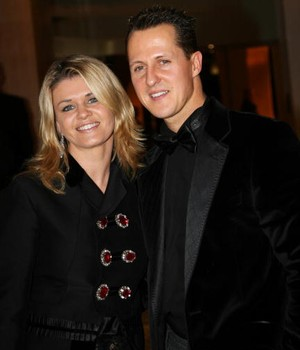 Corinna e Michael Shumacher  (Foto: Getty Images)