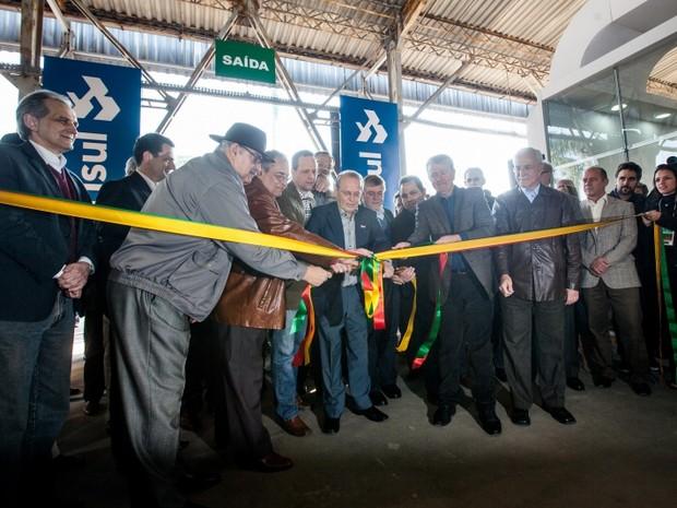 Solenidade marcou abertura da Expointer em Esteio, RS (Foto: Alina Souza/Divulgação)