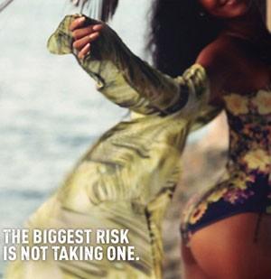 Rihanna em Barbados - campanha do Visit Barbados (Foto: Divulgação)