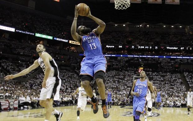 James Harden, Oklahoma City Thunder (Foto: AP)
