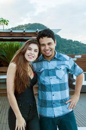 O amigo Jean Carlos foi quem incentivou Bruna a se inscrever no The Voice Brasil (Foto: Douglas Melo/Divulgação)