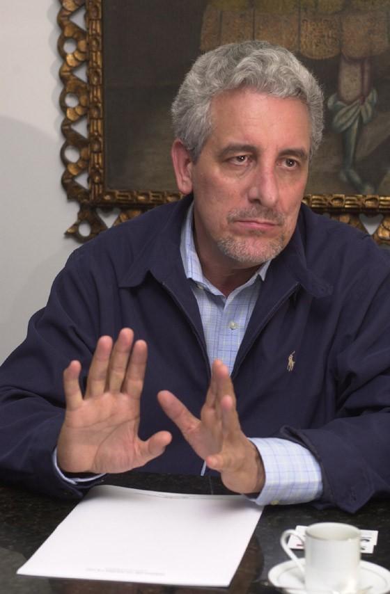 O ex-diretor do Banco do Brasil e condenado pelo mensalão Henrique Pizzolato (Foto: Maurilo Clareto / Editora Globo)