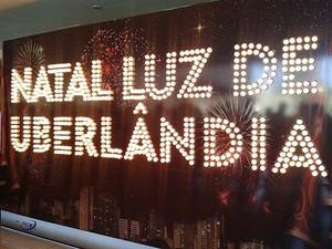 Uberlândia terá decoração de Natal com mais de 500 mil lâmpadas (Foto: Caroline Aleixo/G1)