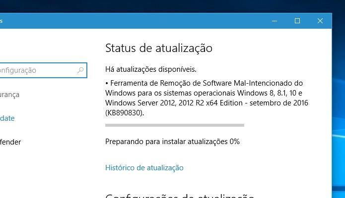 Verifique se o Windows Update voltou a funcionar (Foto: Reprodução/Paulo Alves)
