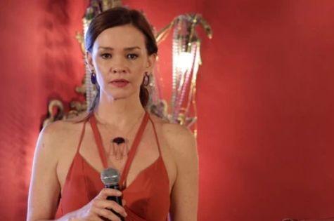 Julia Lemmertz, a Helena de 'Em família' (Foto: Divulgação/TV Globo)