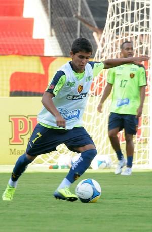everton felipe sport (Foto: Aldo Carneiro / Pernambuco Press)