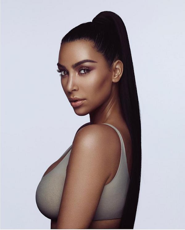 A foto polêmica compartilhada por Kim Kardashian (Foto: Instagram)