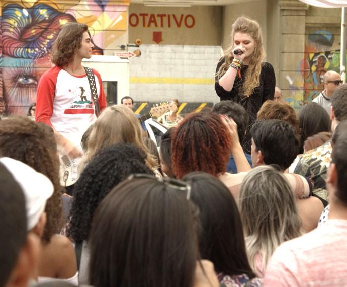 Fiquem ligados em Malhação para assistir ao show (Foto: TV Globo)