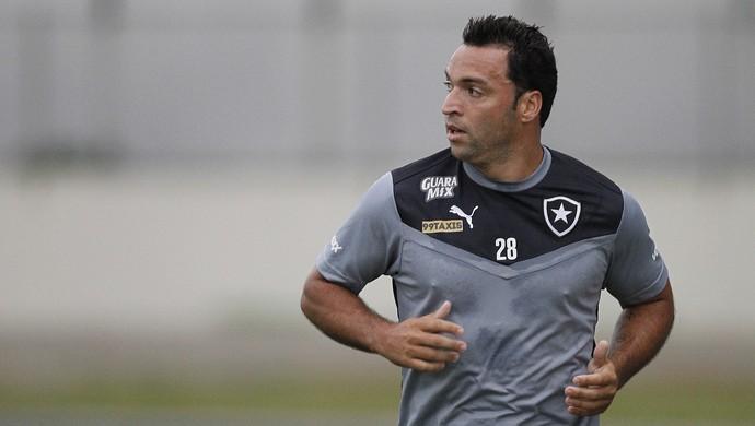 Daniel Carvalho Botafogo treino (Foto: Vitor Silva/SSPress)