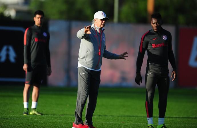 Falcão treino Inter (Foto: Tomás Hammes/GloboEsporte.com)